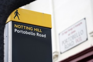 Notting Hill W11 Sign